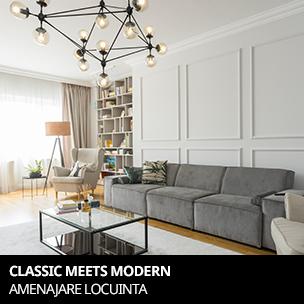 classic meets modern